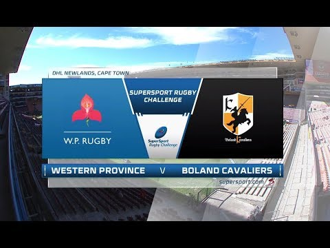 2018 SuperSport Rugby Challenge - DHL Western Province Vs Boland Cavaliers