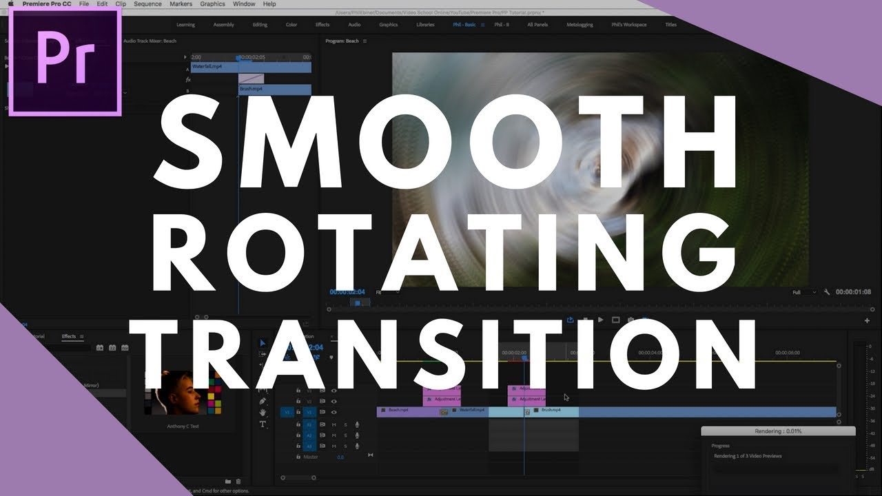 how to rotate image in premiere pro