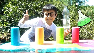 Guka Learns Easy Sience Experiments to do at Home