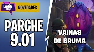 9.01 PARK, NEW SIMULATION MIST SHEATHS . . . . . . . . . . . . . . . . . . . . . . . . . . . . . . . . . . . FORTNITE SAVE THE WORLD Spanish Gameplay