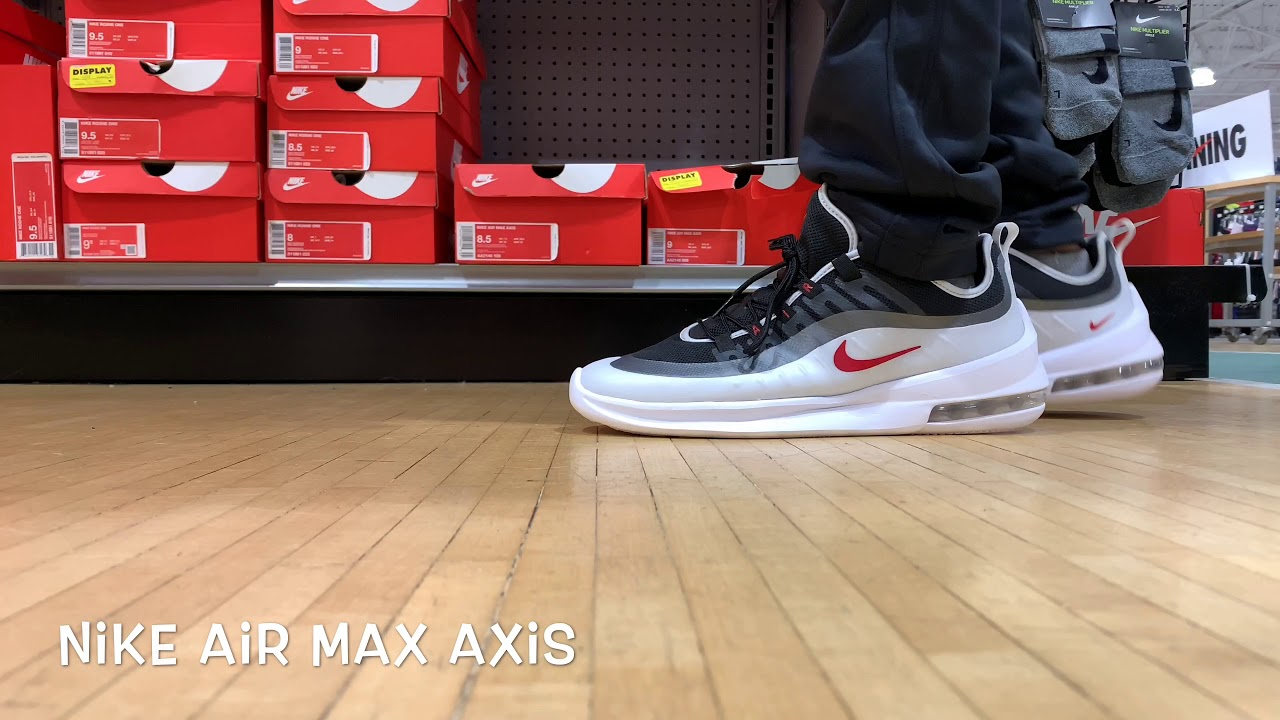 The Nike Air Max Axis will Make you FEEL BETTER ABOUT YOURSELF!