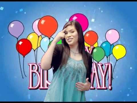Happy Birthday Asl Youtube