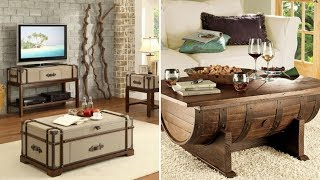 10 Living Room Upcycling Furniture Ideas