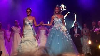Miss Lorraine 2018 pour Miss France - Miss Coup de Cœur 2018 (Prix de la Sympathie) Joanna Michel