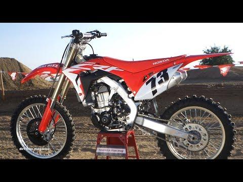 2018 Honda CRF450 - Dirt Bike Magazine