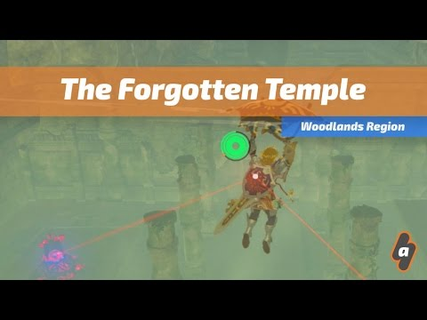 The Forgotten Temple The Legend Of Zelda Breath Of The Wild