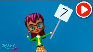Учим цифры - Семь! Привет, малыш! Мультики и песенки для детей