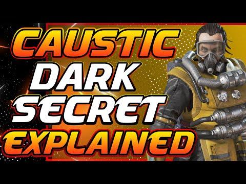 CAUSTIC DARK SECRET PAST : APEX LEGENDS THEORY LORE (SEASON 4)