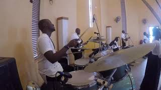 Yu Hai Jehova by John Lisu - Nyali Baptist Church (Drum cam)