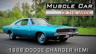 Muscle Car Of The Week Video Episode #154: 1968 Dodge Charger Hemi