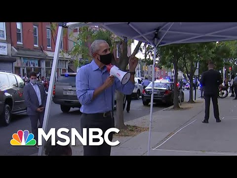 Campaigning Is Like 'Riding A Bike' For Obama, Errin Haines Claims   Deadline   MSNBC