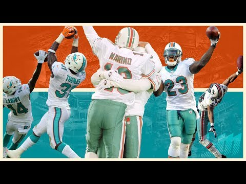 Miami Dolphins All-Time Greatest Plays & Moments