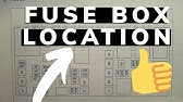 Fuse Box Location And Diagrams Chrysler Town Country 2004 2007 Youtube