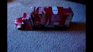Soda Can Coca Cola Truck/ Tractor Trailer