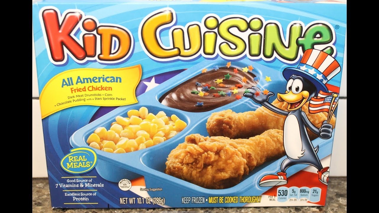Kid Cuisine All American Fried Chicken Review Youtube