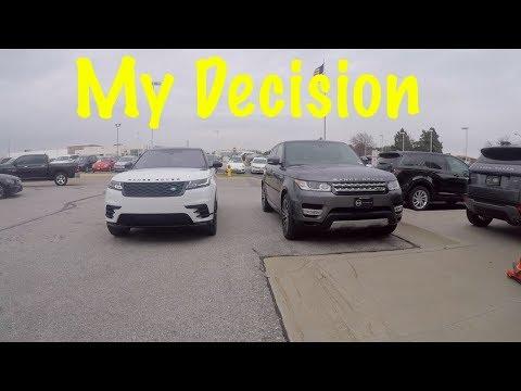 Why I Chose The Range Rover Velar Over The Sport!