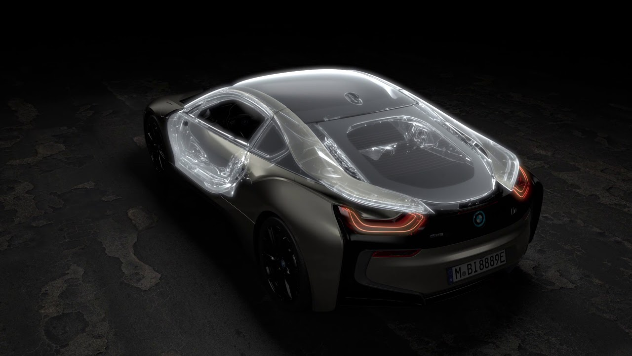 The New Bmw I8 Roadster The New Bmw I8 Coupe Animation Youtube