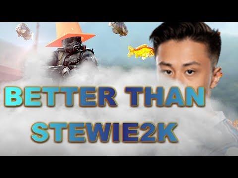 Better than STEWIE2K through SMOKES! CSGO OVERWATCH