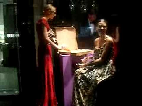 Models DO eat proof! @ Escada in NYC Fashion Night Out Sept 10 2009