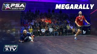 """Oh wow, that was a JOKE"" - Squash MegaRally - ElShorbagy v Rosner"