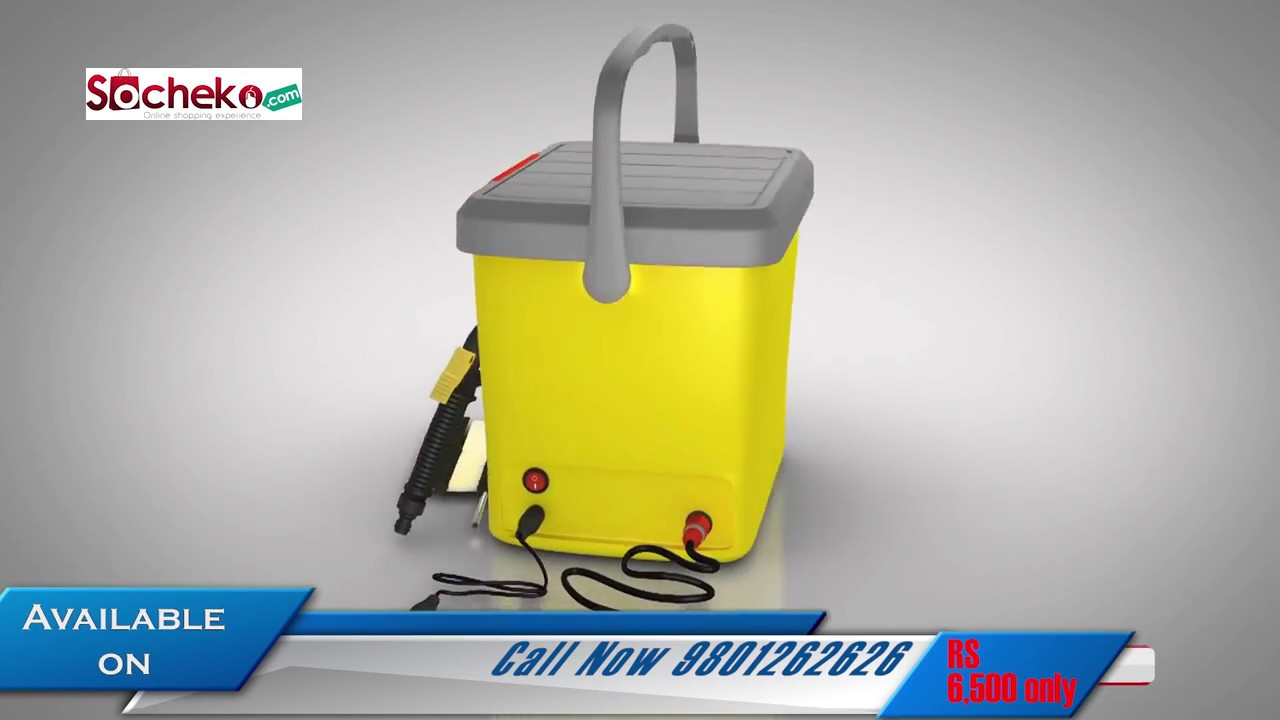 High Pressure Portable Car Washer Socheko Com Pvt Ltd Youtube
