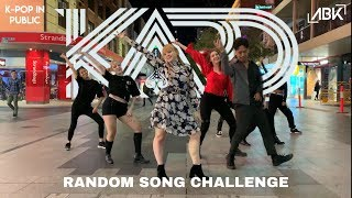 [RANDOM SONG CHALLENGE] KARD (카드) - Bomb Bomb (밤밤) Dance Cover by ABK Crew from Australia