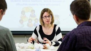NSF CAREER Award Aids Research on STEM Teaching