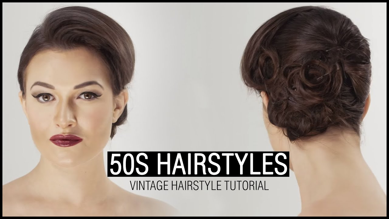 50s hairstyle - vintage