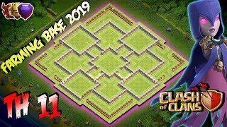 BEST Farming Base Town Hall 11 TH11 2019 Hybrid Farming Base Clash of clans
