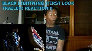 BLACK LIGHTNING (FIRST LOOK TRAILER) - REACTION!!!!