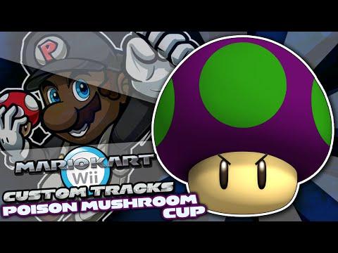 Mario Kart Wii Custom Tracks w/ PKSparkxx! | Goomba Mod + Poison Mushroom Cup (Season 2)