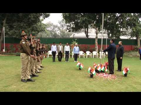 Republic Day Celebration: HRD Minister Prakash Javadekar hoist Nation Flag