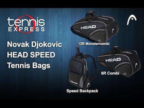 Head Novak Djokovic Tennis Bags Preview Tennis Express Youtube