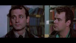 Призрак в библиотеке. Охотники за привидениями. 1984. HD