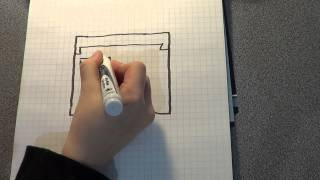 how to draw a minecraft steve head
