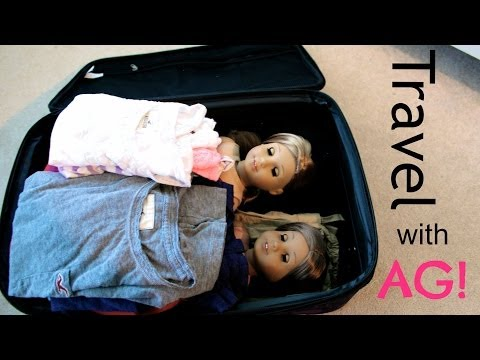 How To Travel With Your AG Doll!