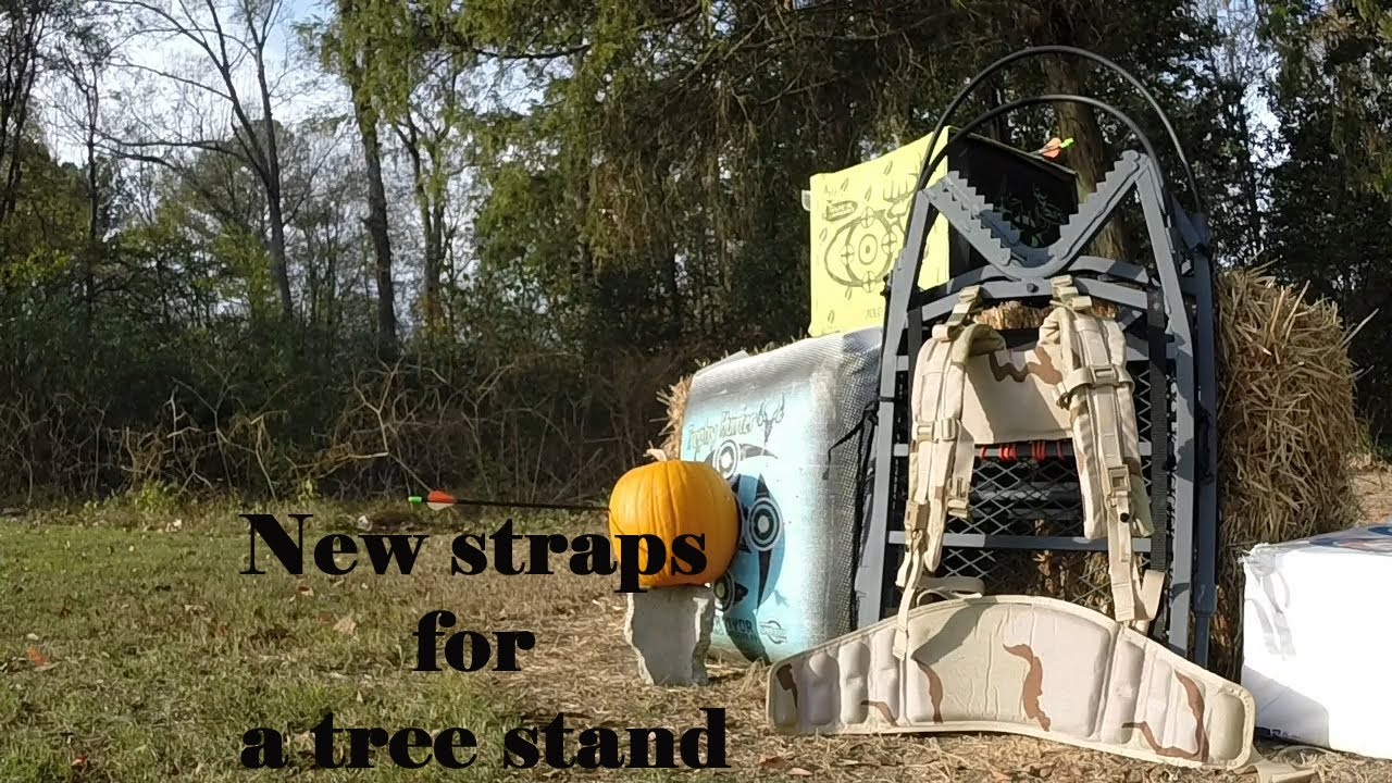 Upgrading Tree Stand Carrying Straps Youtube