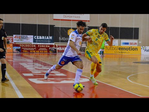 Fútbol Emotion Zaragoza -   Jaén Paraíso Interior Jornada 20 Temp 19-20