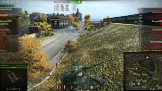 World of Tanks - Type 3 Chi-Nu-Kai 1000 damage,Top Gun
