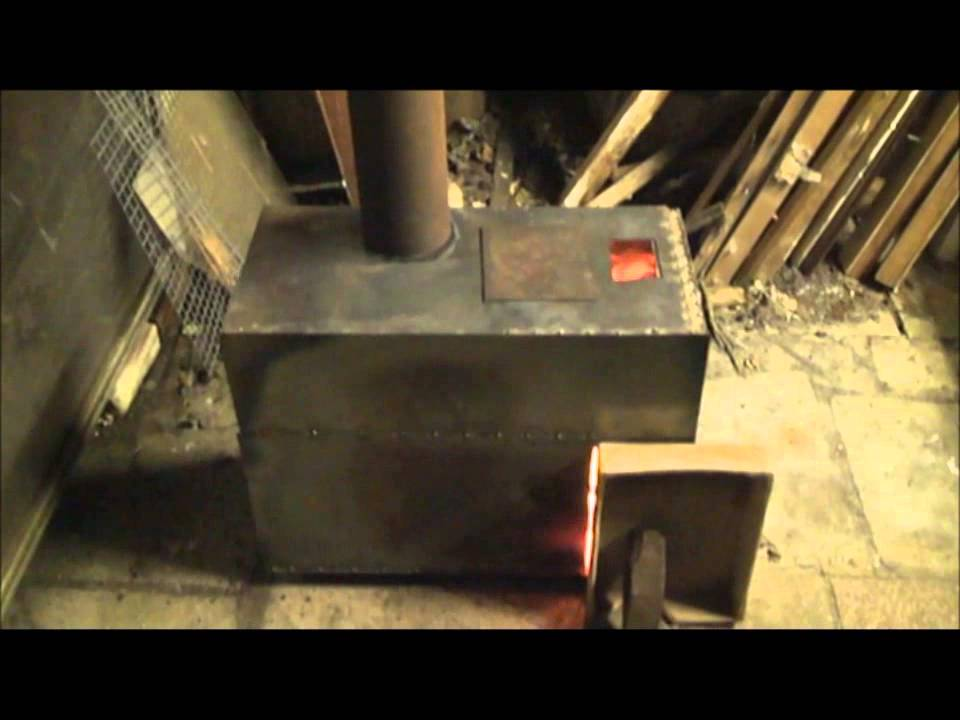 Rocket Stove With Boiler Build And Burn Youtube