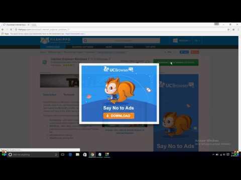 how to download microsoft edge/internet explorer 11 in windows 7