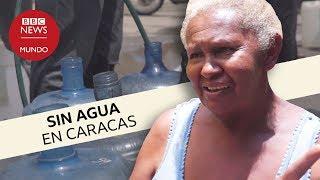 Las dificultades para conseguir agua en Caracas cuando hay apagones