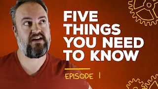 Porn goes SexEd, 10 years of CrackBerry, and fat Phil [5 Things Episode 1]