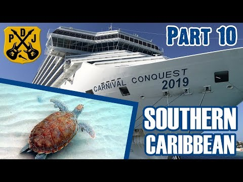 Carnival Conquest Cruise Vlog 2019 - Part 10: Curaçao, Irie Tours, West Beach Hopping - ParoDeeJay