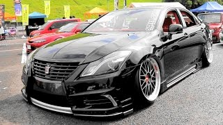 (HD)TOYOTA CROWN VIPSTYLE CAR modified النسخة الهجين لتويوتا كراون  ゼロクラウン・VIPカーカスタム - Zeal杯2016