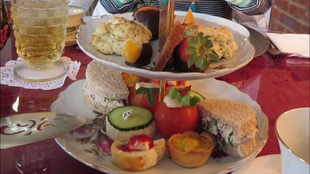 High Tea Offering At Laura S Tea Room In Ridgeway South