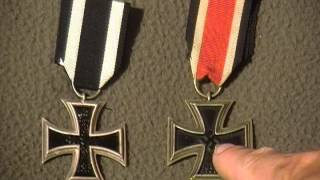 WW1 WW2 German Iron Cross Imperial German and Nazi military medal award collection