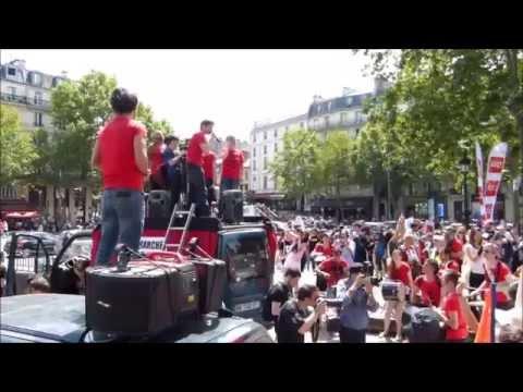 Marche pour la Fermeture des Abattoirs - Paris - 13 juin 2015
