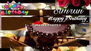 Happy Birthday Simran Birthday Names Videos Birthday Names Songs