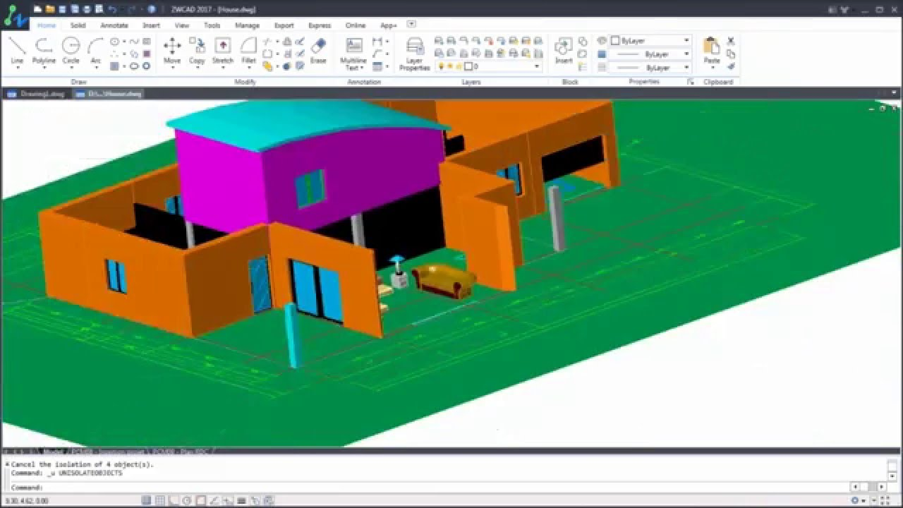 Learning autocad 2014 3d model tutorial for beginners #1 youtube.